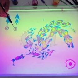 Мастер-класс «Рисунки на воде»